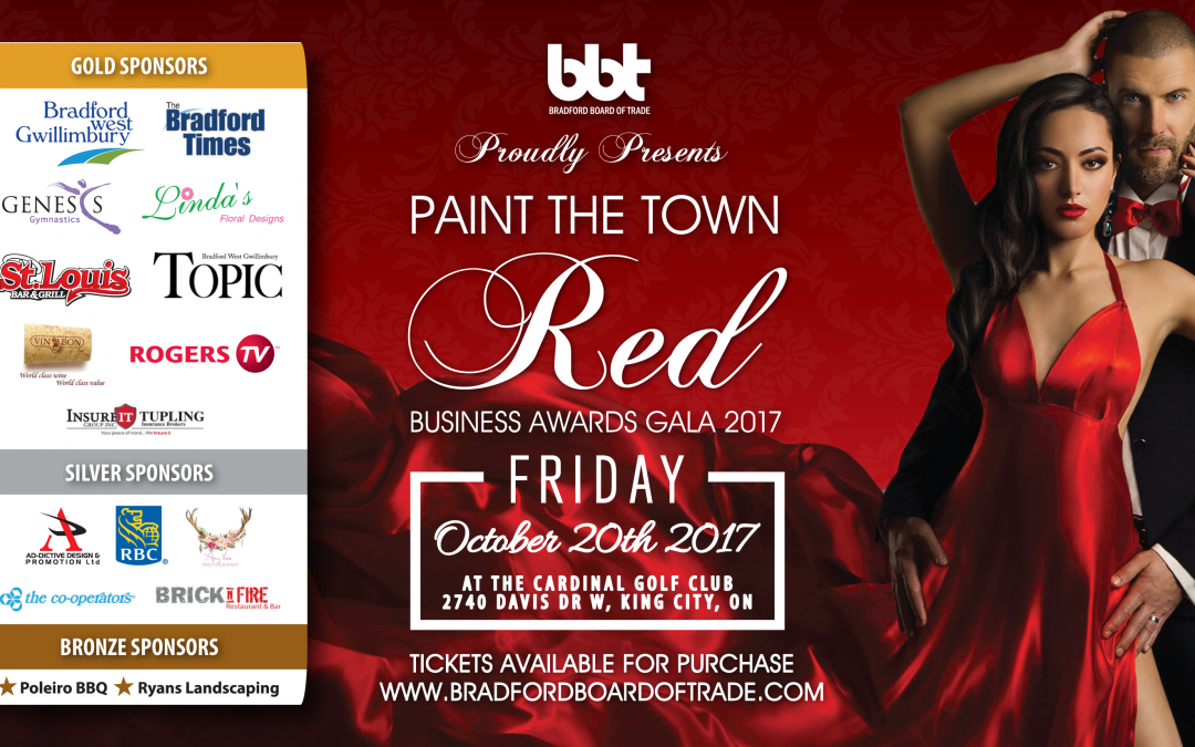 Business Excellence Award Gala 2017: Paint The Town Red