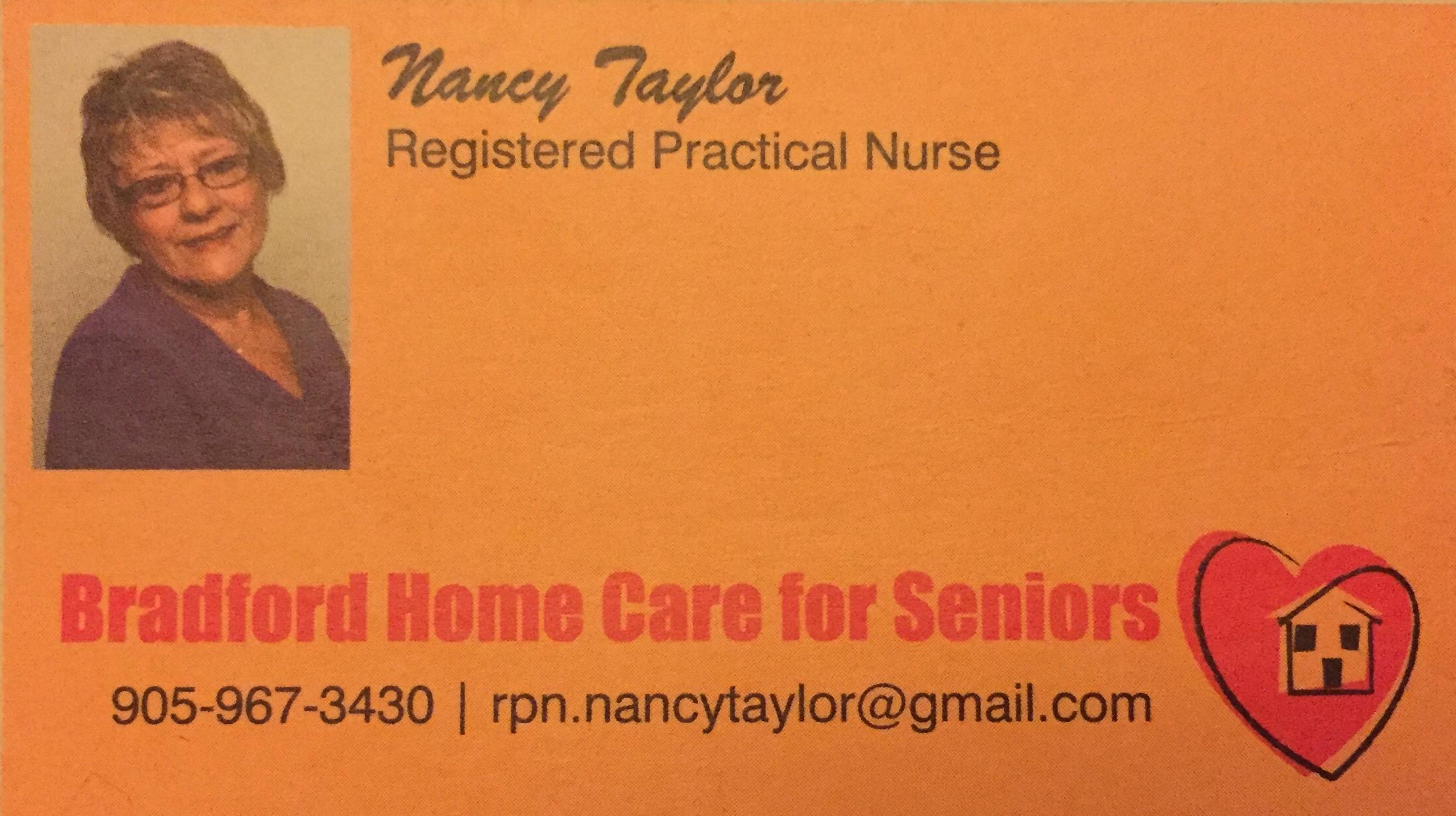 Bradford Home Care For Seniors