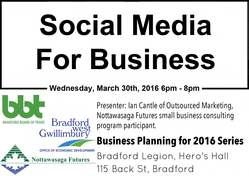 Business Planning For 2016, Social Media For Business