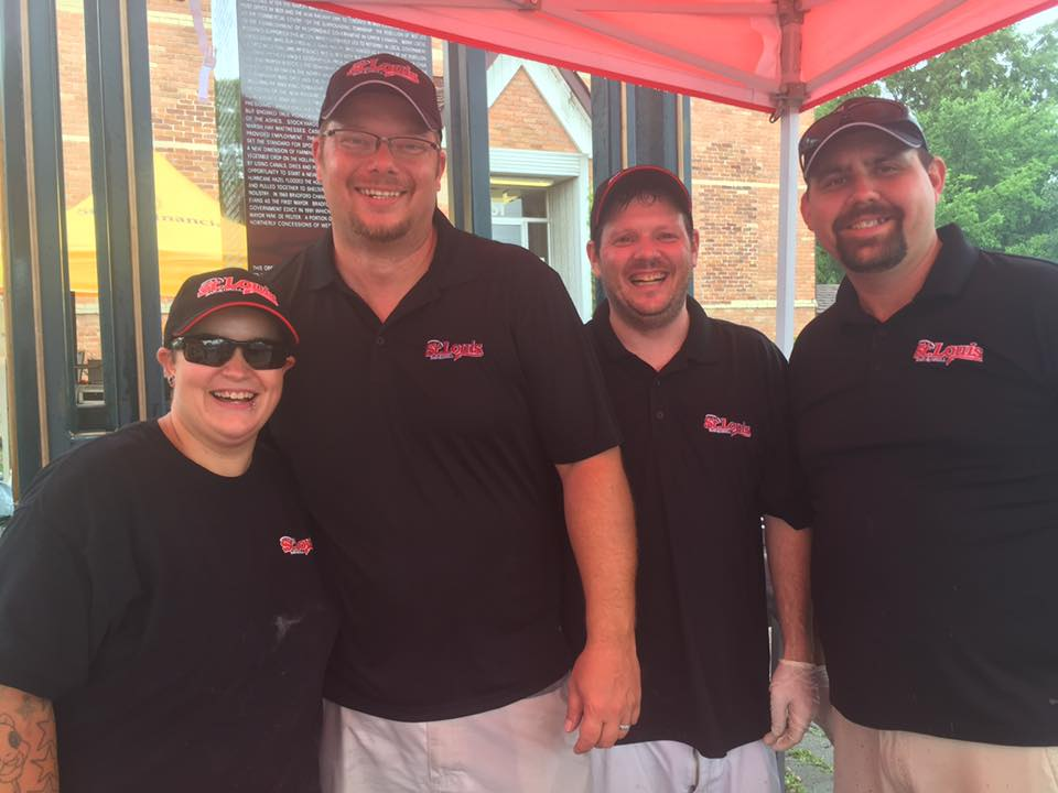The talented team from St. Louis Bar & Grill Bradford! Thank you, lunch was devilishly delicious!