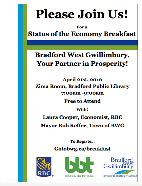 Status Of The Economy Breakfast BWG