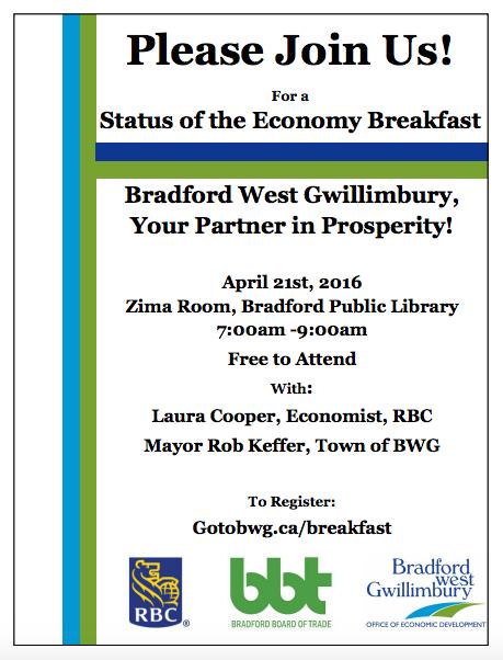 Status Of The Economy Breakfast BWG