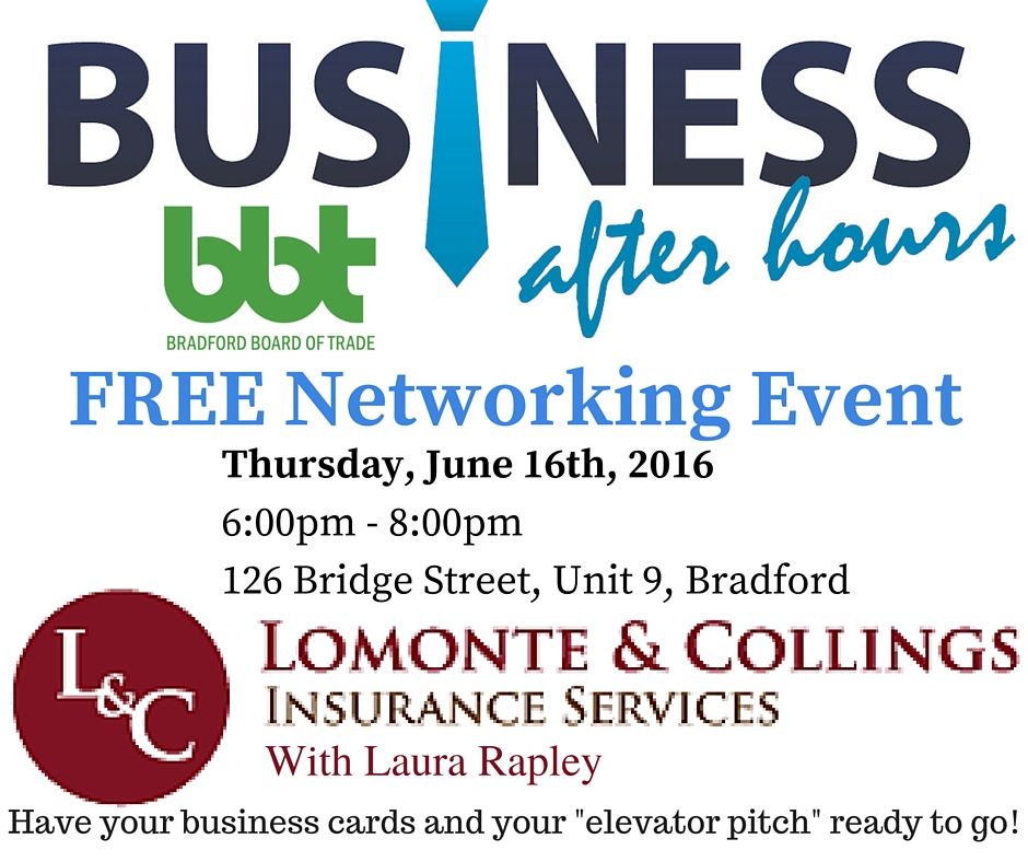 Business After Hours: Lomonte & Collings Insurance with Laura Rapley ...